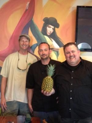 Fini, Chef Tiki Tim & John Farlow
