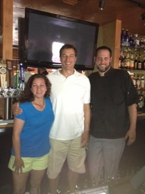 Sherry Nikatsu, John Fina & Chef Bryan Vernon