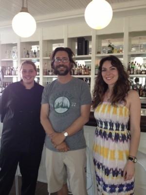 Chef Brittany Palmer, Adam Weinstein & Bella Joffroy