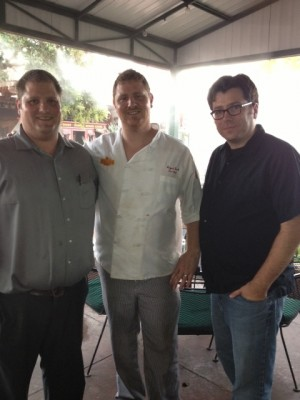 Isaac Ench, Chef August Ench & Dan Gibson
