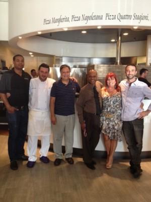 Adam Lehrman and the gang from La Mia Toscana