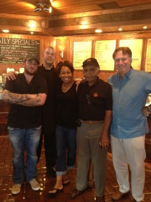 Steve Sargent, Anthony Mina, Rhonda Kendrick, Mr. K, and Alan Zeman