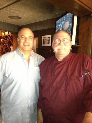 Tom Alfonso & Chef Jonathan Landeen