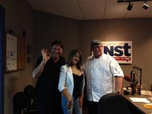 Chef Alan Zeman, Fatima Campos & Chef Albert Hall