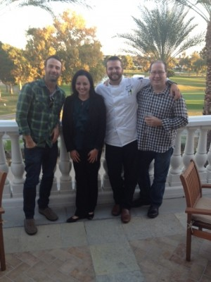 Adam Lehrman, Andrea Bravo, Chef Jonathan Stutzman & Matt Rusell