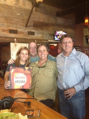 Kimberly Clements, Matt Russell, Dennis Arnold and Ed Sipos