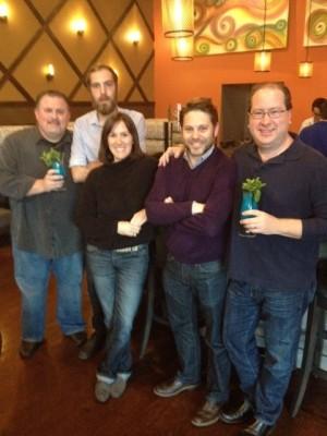 John Farlow, Karl Goranowski, Nicole Flowers, Travis Reese & Matt Russell