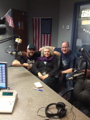 Brian Metzger, Karyn Zoldan & Matt Russell
