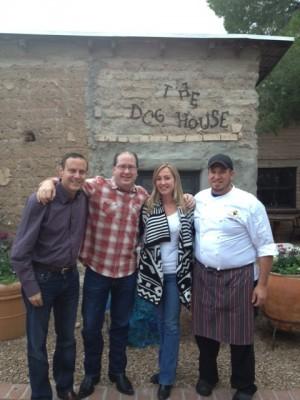 Michael Luria, Matt Russell, Kristen Tremmel & Chef Sergio Rocha