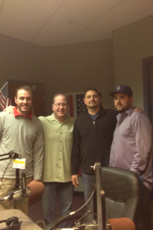 Matt Shaloo, Matt Russell, Chef Carlos Calderon & C.J. Hamm