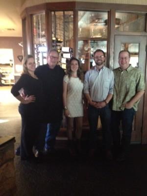 Kendra Johnson, Chef Albert Hall, Bella Joffroy, Bryan Lapham & Matt Russell
