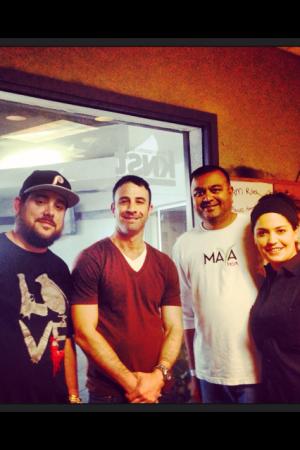 C.J. Hamm, Adam Lehrman, Manish Shah & Chef Maria Mazon