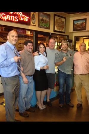 Mike Watman, Chef Mike Lopez, Grace Sotolongo, Matt Russell, Scot Litteer & Jerry Yang