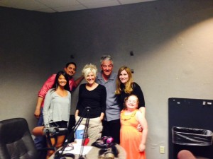 Melanie Sutton, Chef Carlos Calderon, Linda Wajtowicz, Mark Irvin, Kym Adair & her daughter Gracie