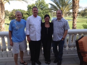 Jerry Heintze, Chef John Hohn, Andrea Bravo & Matt Russell