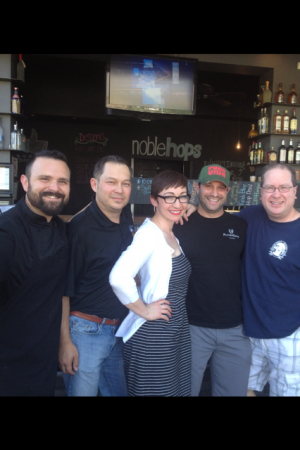 Chef Angel Fabian, Johnny Smith, Sarah Ritchie, Aric Mussman & Matt Russell