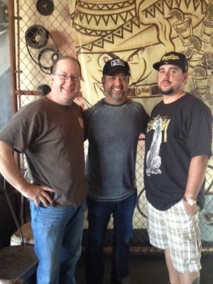 Matt Russell, Ray Flores & C.J. Hamm