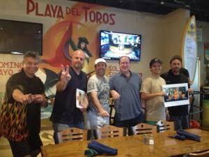 Val Romero, Ron Beaton, Scot Litteer, Matt Russell, Andrew Carlin & Chef Tiki Tim