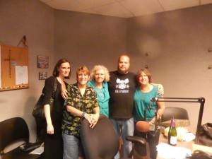 Yvonne Tate, Edie Jarolim, Karyn Zoldan, Chef Jack Tate & Rita Connelly
