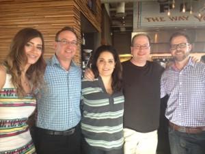 Liz Stern, George Ferranti, Maria Mazon, Matt Russell & Bryan Lapham