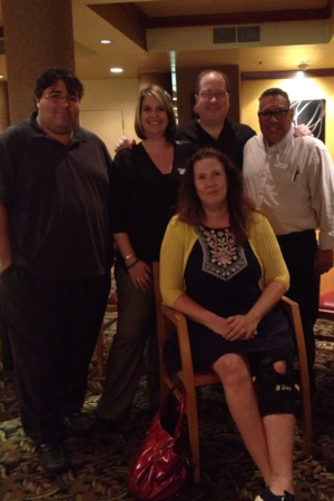 Gerald Gay, Michelle Goldstein, Deborah Tenino, Matt Russell & Michael Juell