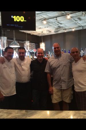 Chef Mike Bonk, Chef Giancarlo Stefanutto, Matt Russell, Tom Alfonso & Shawn Stutzman
