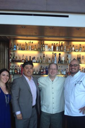 Bella Joffroy, Carlos Ruiz, Matt Russell & Chef Danny Perez