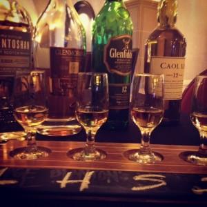 Scotch Flights at PY Steakhouse