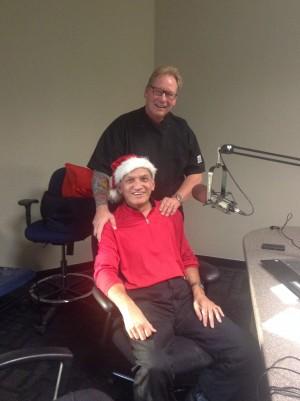 "Frankie ""Santa"" Santos & Chef Albert Hall"