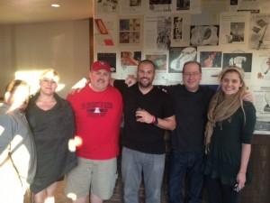 Jason Neri, Amanda Neri, John Farlow, Brian Metzger, Matt Russell & Annie Davis