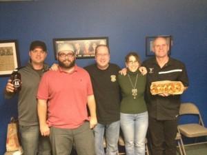 Chef Ryan Clark, J.P. Vyborny, Matt Russell, Dawn Rush & Jody Rush