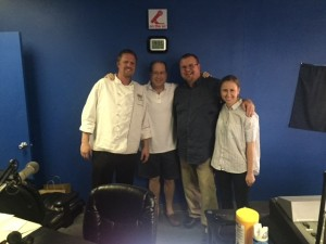 Iron Chef John Hohn, Matt Russell, George Jenson & Laura Reese