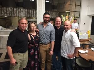Tony Poe, Brittany Kagele, Ricky Anderson, Matt Russell & Chef Matt Paschal
