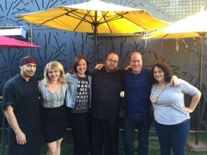 Chef Ben Caballero, Dale Riggins, Sandy Ford, Chef Jack Tate, Matt Russell & Andi Berlin