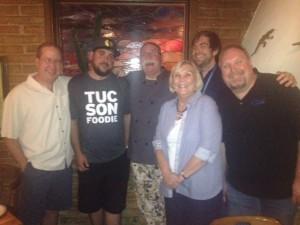 Matt Russell, C.J. Hamm, Chef Jonathan Landeen, Leslie Miller, Peter Miller & Jason Miller