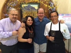 John Kulikowski, Andi Berlin, Matt Russell & Chef Bruce Yim