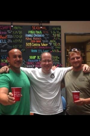 Garrett Marrero, Matt Russell & Darren Moser