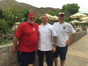 John Farlow, Chef Ken Harvey & Matt Russell