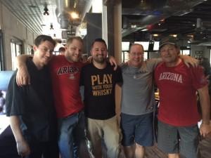 Chef Patrick Malarchik, Andy Bulkley, Chris Cohen, Matt Russell & Thom Wadlund