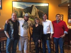 Matt Russell, C.J. Hamm, Fatima Campos, DP & Luis Campos