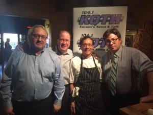 John Kulikowski, Matt Russell, Chef Bruce Yim & Dan Gibson