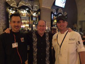 Eric Harding, Matt Russell & Chef Ryan Clark