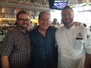 Bryan Lapham, Matt Russell & Chef Ryan Jones