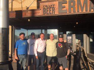 Eric Erman, Mark Erman, Michael Luria, Matt Russell & Chef Ken Harvey