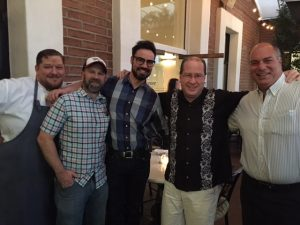 Chef Kevin Handt, Scott Safford, Ricky Anderson, Matt Russell & Tom Alfonso